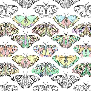 Butterfly doodles by Kcreations