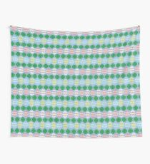 Easter Eggs & Four-Leaf Clovers Wall Tapestry
