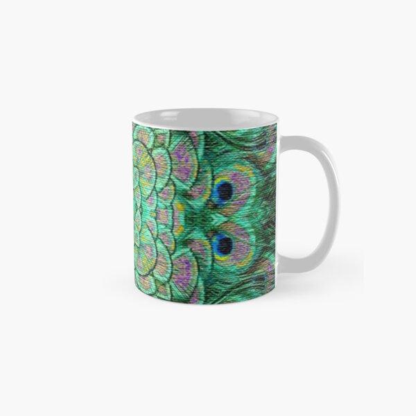 Peacock Frenzy Classic Mug