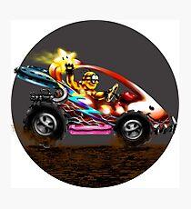 Lakitu racer super mario Photographic Print