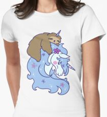 Unicorn and Unicorn Sloth T-Shirt