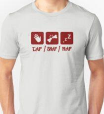 Tap / Snap / Nap (BJJ / Judo / Wrestling) Unisex T-Shirt