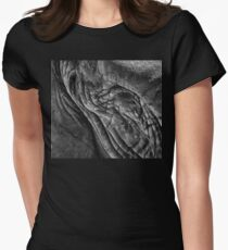 Elephant Close-up Womens Fitted T-Shirt