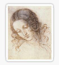 Leonardo Da Vinci - Leda Sticker