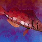 Red fish by Anjo Lafin