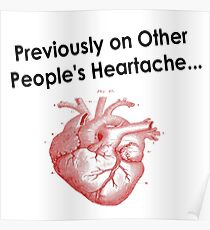 Previously on Other People's Heartache Poster