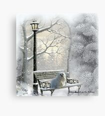 All is Calm - All is Bright Metal Print