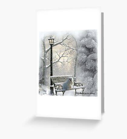 All is Calm - All is Bright Greeting Card