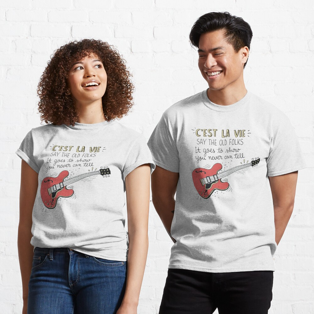 Chuck Berry Tribute Illustration Classic T-Shirt