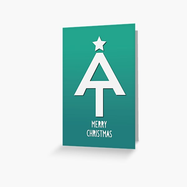 Appalachian Trail Christmas Greetings Greeting Card