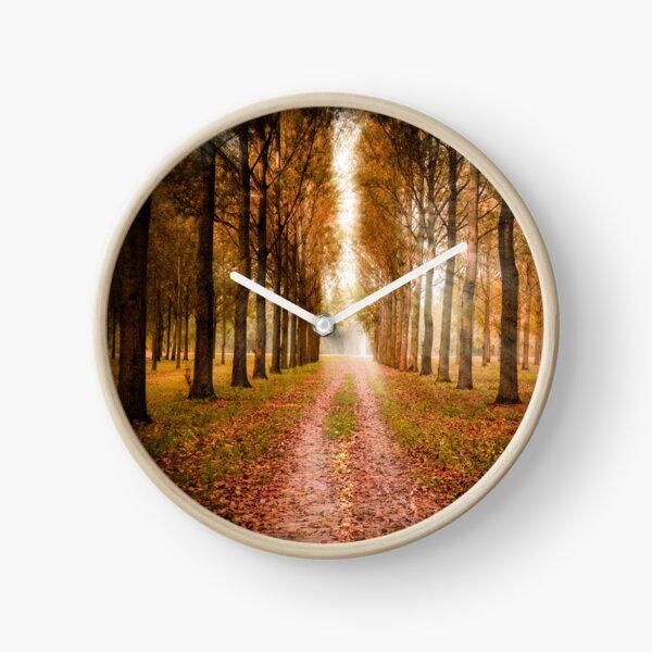A Nice Autumn Day Clock