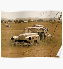 Old Vintage Autos One Poster