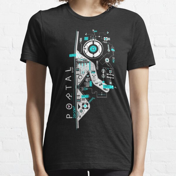 Portal 2 Art T-shirt essentiel