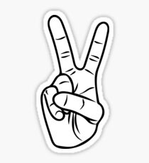 peace sign stickers redbubble