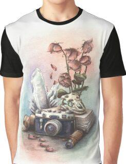 Vanitas Old Camera Graphic T-Shirt