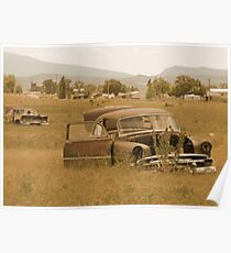 Old Vintage Autos Two Poster