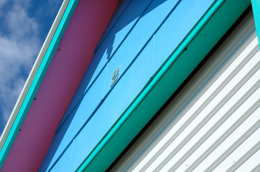 Beach House Detail by Roslyn Slater
