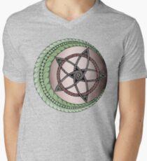 Moon & Star Men's V-Neck T-Shirt
