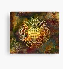 Flower Of Life (Batik 1) Canvas Print