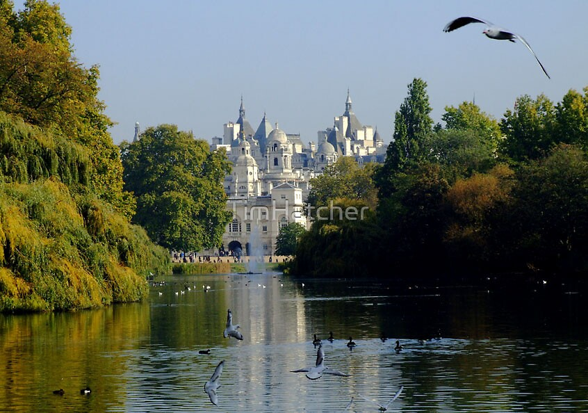 Horse Guards Parade from St James's Park by TimHatcher