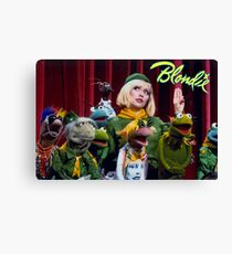 Debbie Harry on the Muppets Show Canvas Print