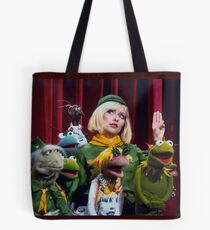 Debbie Harry on the Muppets Show Tote Bag