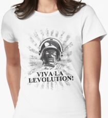 Viva la levolution! Women's Fitted T-Shirt