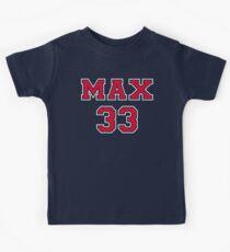 Max Verstappen 33 Kids Tee