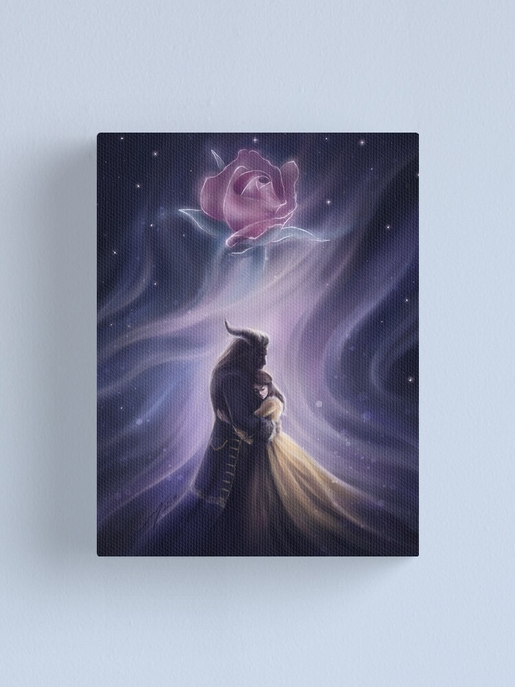Alternate view of Beauty and the Beast Canvas Print