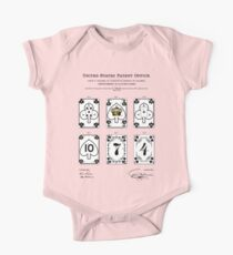 Playing Cards Patent One Piece - Short Sleeve