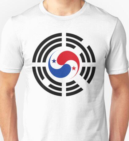 Korean Panamanian Multinational Patriot Flag Series T-Shirt