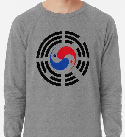 Korean Panamanian Multinational Patriot Flag Series Lightweight Sweatshirt