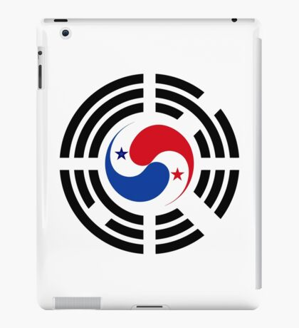 Korean Panamanian Multinational Patriot Flag Series iPad Case/Skin