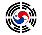 Korean Panamanian Multinational Patriot Flag Series by Carbon-Fibre Media