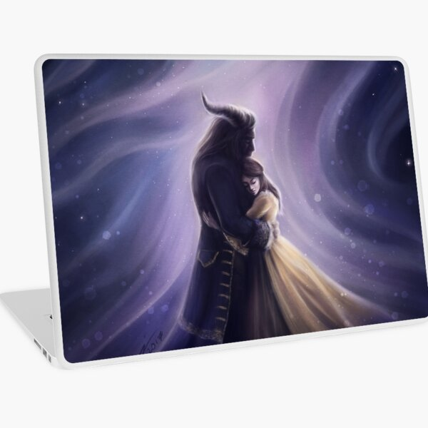 Beauty and the Beast Laptop Skin