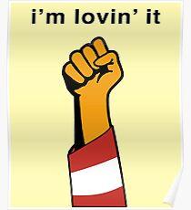 I'm Lovin' The Resistance  Poster