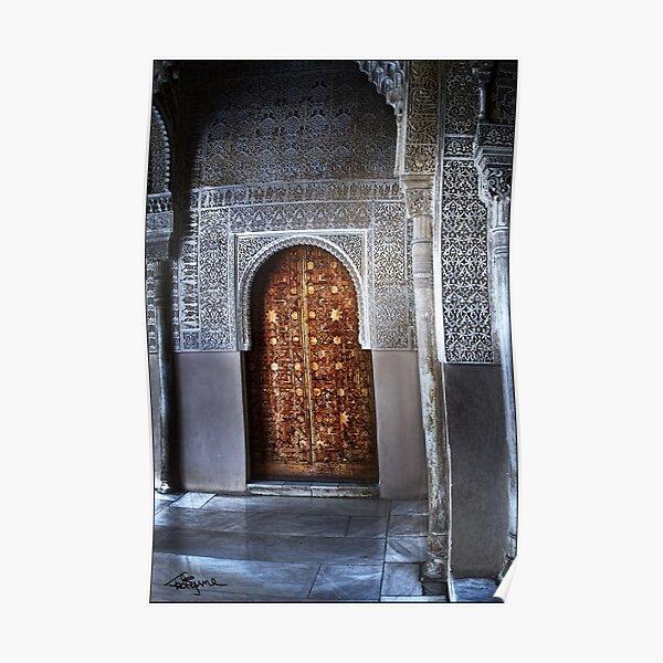 Sultan's Corner Doorway Poster