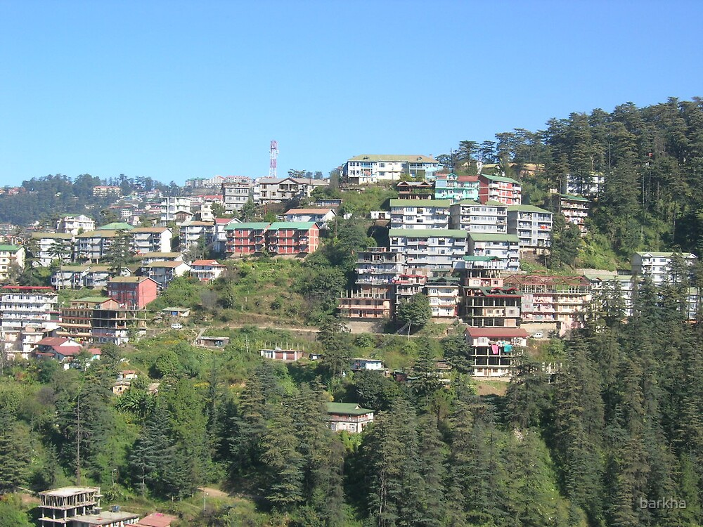 Houses on Mountains by barkha