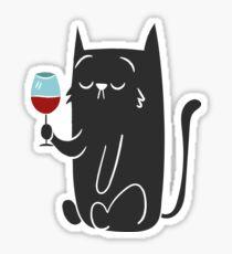 Like a Sir Cat Sticker