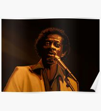 Chuck Berry Gold Poster