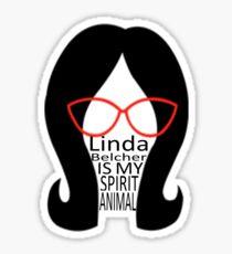 Linda Belcher Bob's Burgers Sticker Sticker