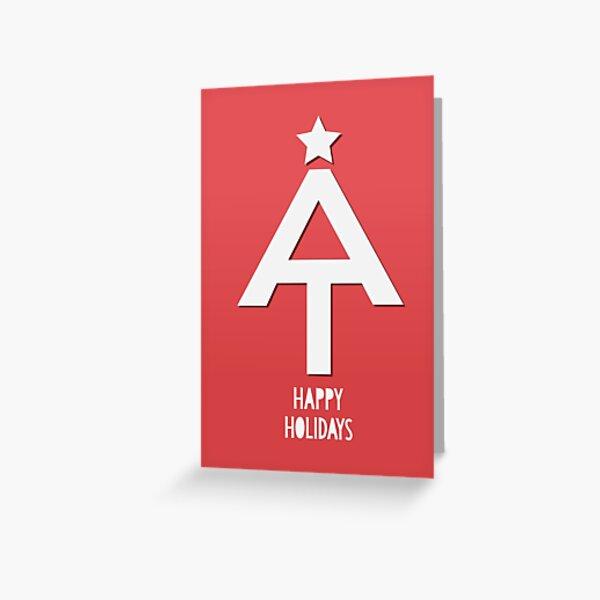 Appalachian Trail Holiday Greetings Greeting Card