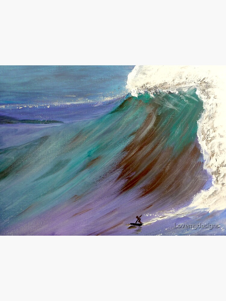 Surfer. Ocean wave by Lovemydesigns