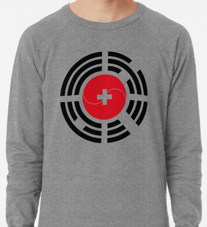 Korean Swiss Multinational Patriot Flag Series Lightweight Sweatshirt