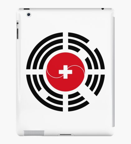 Korean Swiss Multinational Patriot Flag Series iPad Case/Skin
