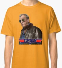 Deliberately Wrong Top Gun Clarkson Classic T-Shirt