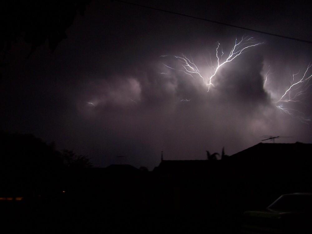 Fingers `when lightning turns evil` by Daniel Rayfield