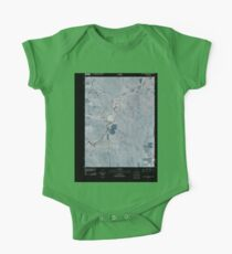 USGS TOPO Map Colorado CO Willow Creek Ranch 20100920 TM Inverted One Piece - Short Sleeve