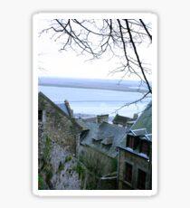 Mont-St-Michel View Sticker