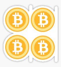 Bitcoin 4some Sticker